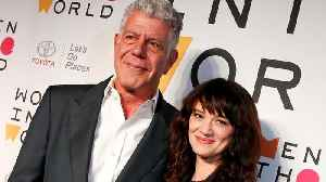 News video: Asia Argento Honors Anthony Bourdain
