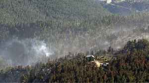 News video: Crews Battling U.S. Wildfires Face Hot, Dry Conditions Before Rain Comes
