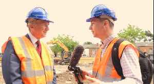 News video: Commonwealth Games Building Begins