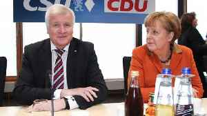 News video: Angela Merkel Could Lose Power Over German Immigration Policies