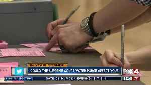 News video: How the supreme court voter purge affects you