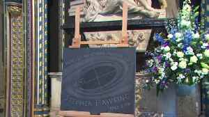 News video: Stephen Hawking's voice rests in space