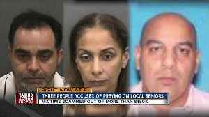 News video: Sheriff: Suspects scammed elderly victims out of money, valuables