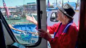 Fishing Boat Skipper 'Wacky Jacky' Looks Forward to Catching Salmon and Turning 90