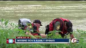 News video: Search called off for evening for missing 6-year-old boy