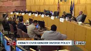 News video: UPDATE: School board moves forward with gender diversity policy
