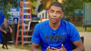 News video: Kyrie Irving Pays Homage To NBA Legends