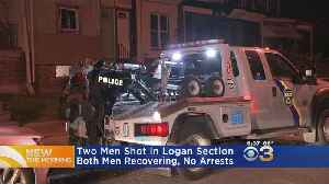 2 Men Shot In Logan Section [Video]