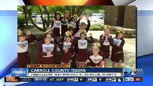 News video: Good morning to the Carroll County Tigers!