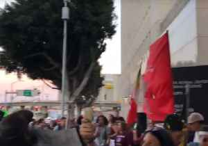 News video: Crowd Gathers Outside Los Angeles Detention Center to Protest Separation of Migrant Families