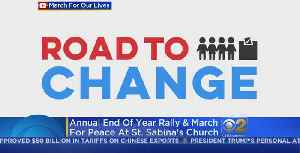 News video: Parkland Survivors, Chicago Students To Kick Off 'Road To Change' Bus Tour