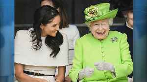 News video: Inside Meghan Markle and Queen Elizabeth's 'Special Day' Together