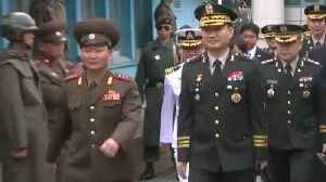News video: North And South Korea Talks Don't Affect U.S. Troops