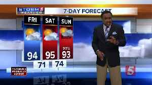 News video: Lelan's Morning Forecast: Friday, June 15, 2018