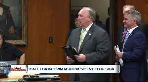 MSU Interim President John Engler says he won't resign, 'I continue to look ahead'