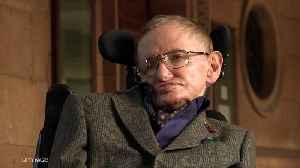 News video: Stephen Hawking's Voice Beamed Into Space