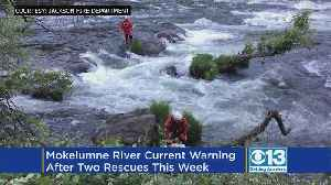 News video: Jackson Fire Dept. Reminds Swimmers To Be Careful And Wear Life Jackets