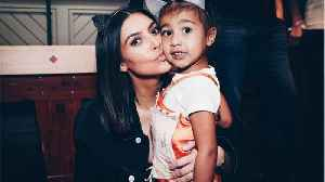 News video: Kim Kardashian just low-key roasted North West for her 5th birthday, and this is actual #momgoals