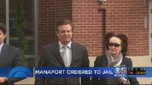 News video: Manafort Sent To Jail By Judge, President Distances Self From Former Campaign Manager