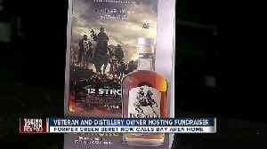 'Whiskey and War Stories' hosted by former Green Beret who helped take down Taliban