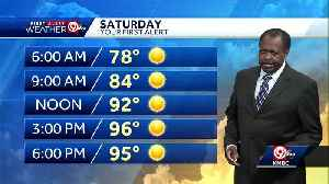 First Alert: Hot weather pattern continues this weekend