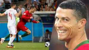 News video: Ronaldo TROLLS Nacho! Evil SMILE After Huge World Cup Goal! | 2018 FIFA World Cup
