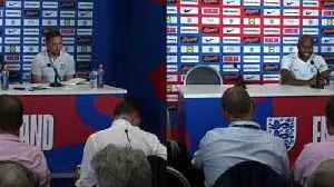 News video: England players told Southgate's secret starting team