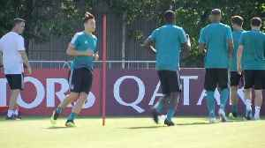 News video: Germany train on eve of World Cup match against Mexico