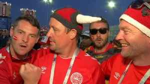 News video: Denmark fans confiident about team's success after victory over Peru