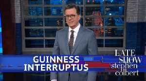 News video: How Stephen Colbert Ruined An Orgy