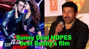 """Sunny Deol HOPES Bobby's """"Race 3"""" blessed with historical success"""