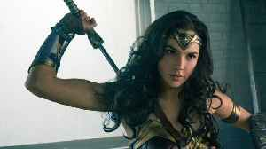 News video: Gal Gadot Shows Off Wonder Woman Costume In Sneak Peek To The Sequel