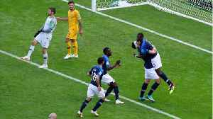 News video: Video Referee Used For First Time At World Cup