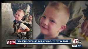 Search for Columbus boy lost in river in its second day