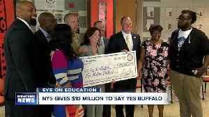 Buffalo graduates get $10 million gift from New York State [Video]