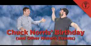 News video: Stuff You Should Know: This Day in History: Chuck Norris' Birthday (and Other Historic Events)