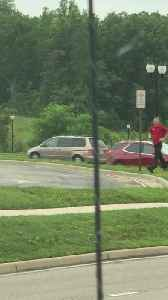 News video: Dedicated Fast Food Employee Delivers Food