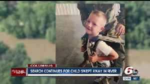 News video: Search resumes for 6-year-old Brendan Sperry who was swept away by the Flat Rock River