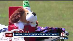 News video: Mother facing deportation selling everything she owns
