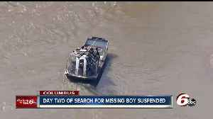 News video: Still no sign of Columbus boy who was swept away by the Flat Rock River