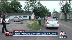 News video: Brother of NBA star found shot to death in parking lot of Marion business