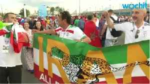 News video: Cheers and tears in St Petersburg as Iran stun Morocco with stoppage-time own goal