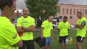 News video: Group Runs Marathon In Mountains With Goal Of Preventing Veteran Suicides