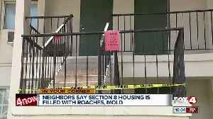 News video: Neighbors say low income housing is filled with roaches, mold