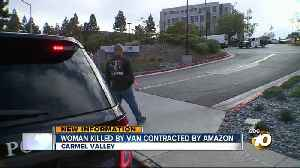 News video: Amazon contractor involved in fatal crash, police say