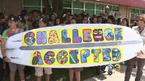 News video: Cherry Hill Teacher, Students Create Surfboard For Surfers With Disabilities