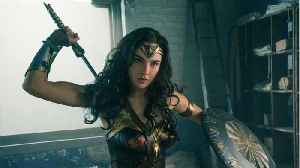 News video: Gal Gadot Is Officially Back In Her Costume For 'Wonder Woman 1984'
