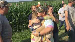 News video: Missing 3-Year-Old Girl Found Sleeping in Field After 12-Hour Search — with Loyal Dog by Her Side