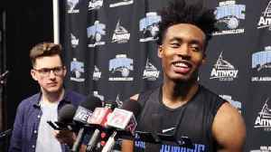 News video: Video: Collin Sexton works out for Orlando Magic