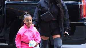 News video: North West Looks All Grown Up With an Ultra-Long Ponytail